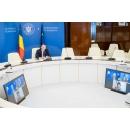 """Participarea premierului Florin Cîțu, în sistem online, la evenimentul """"Grand Matinal(...)"""