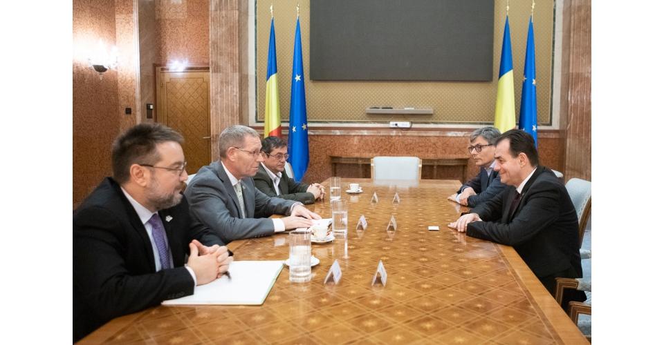 Întrevederea premierului Ludovic Orban cu reprezentanții Exxon Mobil