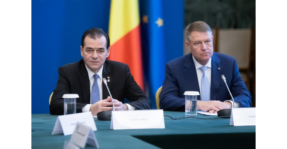 Acting Prime Minister Ludovic Orban's meeting with the President of Romania Klaus Iohannis on the(...)