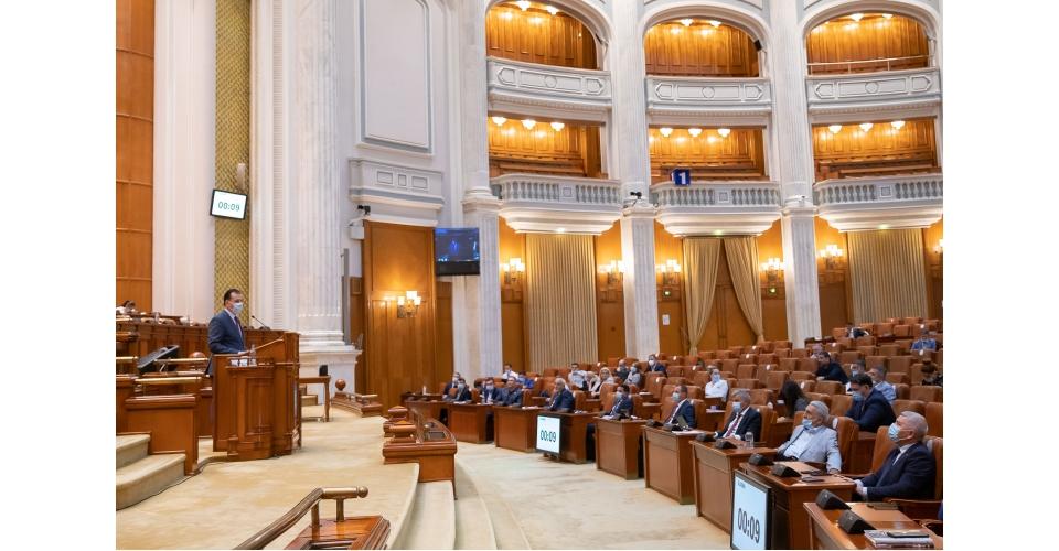 Participarea premierului Ludovic Orban la ședința de plen a Camerei Deputaților, la dezbaterea(...)