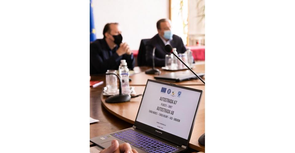 Participarea premierului Florin Cîțu la prezentarea proiectelor A7, A8 Suceava și întâlnirea(...)