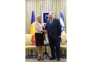 Întrevederea premierului român Viorica Dăncilă cu președintele Statului Israel Reuven Rivlin