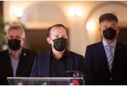 Conferința de presă susținută de premierul Florin Cîțu la Alba Iulia