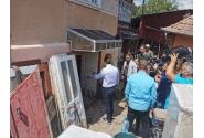 Declarații susținute de premierul Florin Cîțu în zonele afectate de inundații din județul Alba