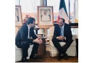 Întrevederea premierului Ludovic Orban cu Șeicul Sabah al-Khalid al-Hamad al-Sabah, prim-ministrul Statului Kuwait