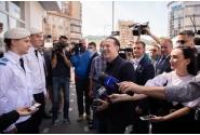 Vizita premierului Florin Cîțu la un Centru de vaccinare din Alba Iulia