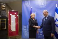 Întrevederea prim-ministrului României, Viorica Dăncilă, cu omologul israelian, Benjamin Netanyahu