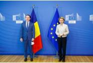 Întrevederea premierului Florin Cîțu cu președintele Comisiei Europene, Ursula von der Leyen