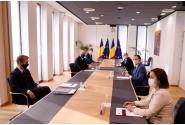 Întrevederea premierului Florin Cîțu cu președintele Consiliului European, Charles Michel