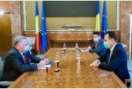 Întrevederea premierului Ludovic Orban cu ambasadorul Statelor Unite în România, Adrian Zuckerman