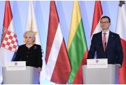 Declarație comună de presă susţinută de prim-ministrul Viorica Dăncilă și prim-ministrul Republicii Polone, Mateusz Morawiecki
