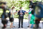 Declarații susținute de premierul Ludovic Orban