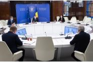 Întrevederea premierului Ludovic Orban cu comisarul european pentru buget și administrație, Johannes Hahn
