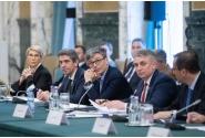 Întâlnirea premierului în exercițiu, Ludovic Orban, cu președintele României, Klaus Iohannis, pe tema situației provocate de coronavirus