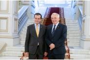Întâlnirea premierului Ludovic Orban cu guvernatorul Băncii Naționale a României, Mugur Isărescu