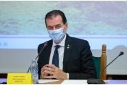Participarea premierului Ludovic Orban la semnarea contractului tronsonului 4 Drum Expres Pitești - Craiova, împreună cu ministrul Transporturilor, Lucian Bode