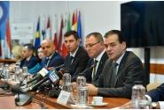 Participarea prim-ministrului Ludovic Orban la preluarea mandatului de ministru al agriculturii și dezvoltării rurale de către Nechita-Adrian Oros