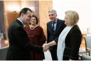 Prime Minister Ludovic Orban meets with the Director General of the EU Statistical Office (Eurostat)Mariana Kotzeva