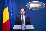 Declarații de presă susținute de premierul Ludovic Orban la Palatul Victoria
