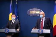 Briefing de presă susținut de ministrul sănătății, Nelu Tătaru, și de secretarul de stat Raed Arafat la finalul ședinței de guvern din 6 iulie