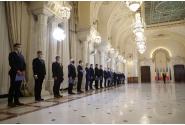 Ceremonia depunerii jurământului de către noul guvern condus de Florin Cîțu