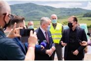 Premierul Florin Cîțu a vizitat Centura ocolitoare a municipiului Zalău