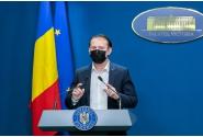 """Participarea premierului Florin Cîțu la evenimentul de prezentare a proiectului de act normativ pentru implementarea Programului Național de Suport pentru Copii """"Din grijă pentru copii"""", împreună cu consilierul de stat Mădălina Turza"""