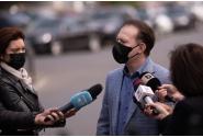 Declarații de presă susținute de premierul Florin Cîțu la Palatul Victoria