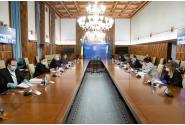 Întâlnirea premierului Ludovic Orban cu reprezentanții asociațiilor și patronatelor din domeniul transporturilor