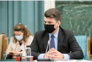 Participarea premierului Florin Cîțu la reuniunea Comitetului interministerial pentru revenirea la normalitate începând cu 1 iunie 2021