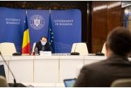 Întrevederea premierului Florin Cîțu cu reprezentanții Organizației Patronale a Hotelurilor și Restaurantelor din România