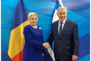 Prime Minister Viorica Dăncilă meets with the Prime Minister of the State of Israel Benjamin Netanyahu