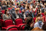 Declarații de presă susținute de premierul Florin Cîțu la Teatrul Național București