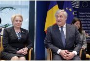 Întrevedere bilaterală a delegației guvernamentale conduse de premierul Viorica Dăncilă cu președintele Parlamentului European, Antonio Tajani