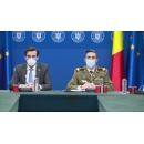 Conferință de presă susținută de președintele Comitetului național de coordonare a activităților privind vaccinarea împotriva SARS-CoV-2, Valeriu Gheorghiță