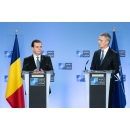 Joint press point with Prime Minister Ludovic Orban and the NATO Secretary General Jens Stoltenberg