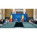 Conférence de presse donnée par Valeriu Gheorghiță, président du Comité national de coordination des activités de vaccination contre le SARS-CoV-2 (CNCAV), et Andrei Baciu, secrétaire d'État au Ministère de la Santé, vice-président de la CNCAV
