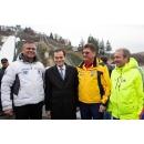 Premierul Ludovic Orban a asistat la competițiile organizate în cadrul Cupei Mondiale de sărituri cu schiurile - masculin, etapa cu nr. 1000