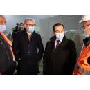 Verificarea, de către premierul Ludovic Orban, a stadiului lucrărilor șantierului Drumului Expres Craiova Pitești, Tronsonul 2