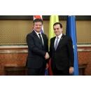 Întrevederea premierului Ludovic Orban cu Miroslav Lajčák, ministrul afacerilor externe al Republicii Slovacia