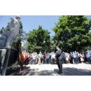 """Participarea premierului Ludovic Orban la depunerea de coroane la Statuia minerului din Parcul Central """"Carol(...)"""