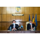 """Prime Minister Ludovic Orban attends the signing of the contract """"Rehabilitation of the Brașov-Simeria railway(...)"""