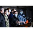 Participarea premierului Ludovic Orban la conferința de presă organizată la Institutul Cantacuzino cu ocazia(...)