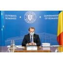 Point de presse donné par le Premier ministre Florin Cîțu et le secrétaire d'État au ministère de l'Intérieur,(...)