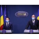 Déclarations à la presse du ministre des Finances publiques, Florin Cîțu, et du président du Conseil(...)