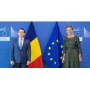 Entretien du Premier ministre Florin Cîțu avec Margrethe Vestager, vice-présidente exécutive de la Commission(...)