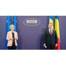 European Commission President Ursula von der Leyen paid a visit to Romania