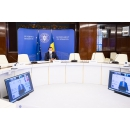 """Participarea premierului Ludovic Orban la videoconferința """"RoInvest"""", organizată de Agenția de presă News.ro"""
