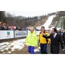 Le Premier ministre Ludovic Orban a assisté aux compétitions organisées dans la Coupe du monde de saut à skis -(...)