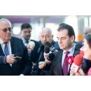 Declarații de presă susținute de premierul Ludovic Orban, după participarea la Adunarea Generală a Asociației(...)